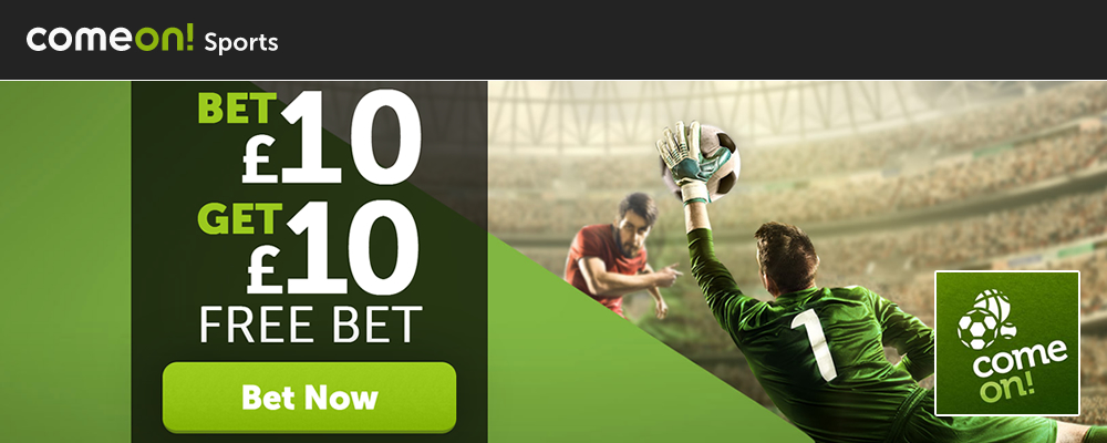 ComeOn, Great Site With £10 Free Bet | bettingsites ltd uk